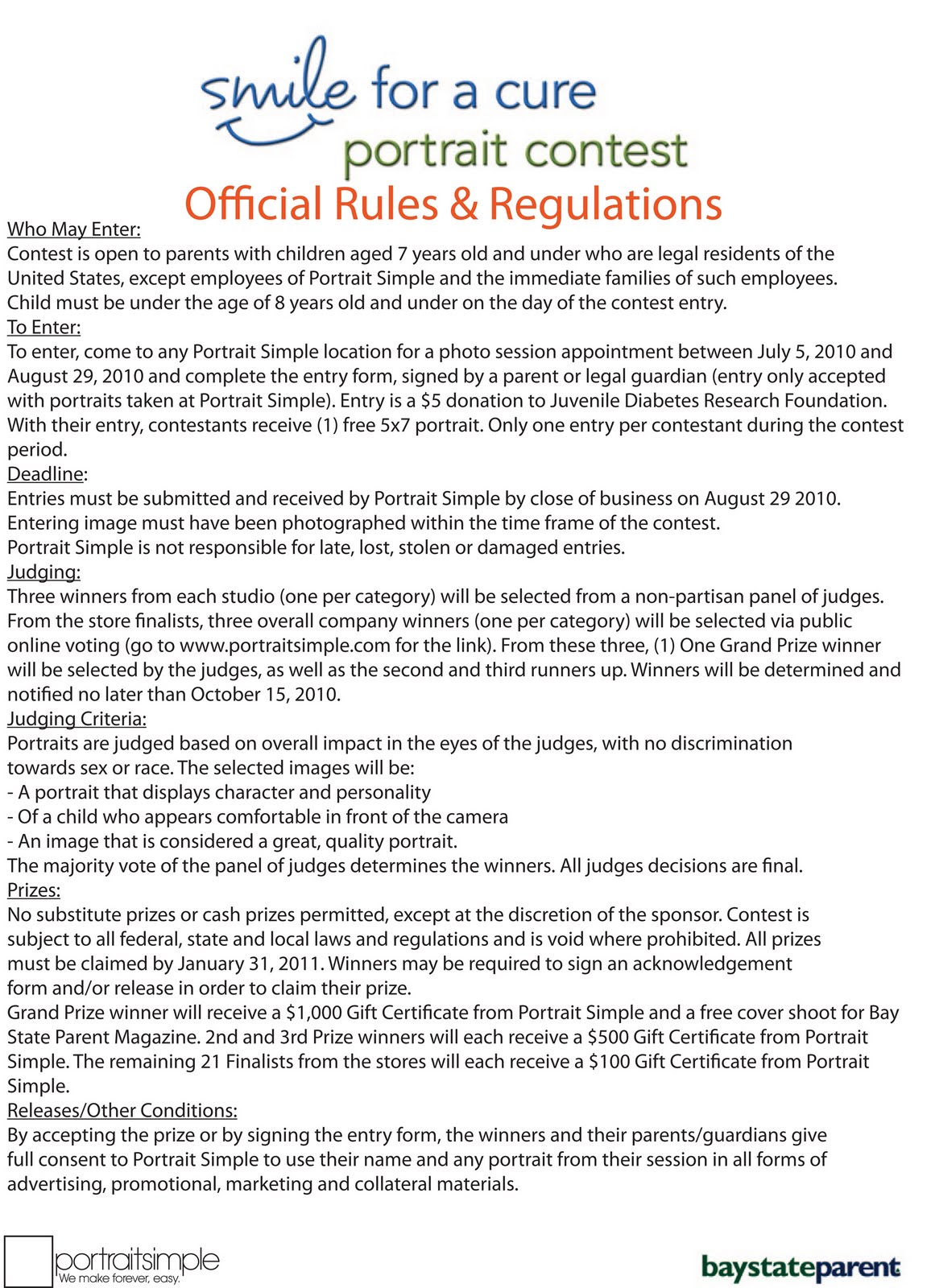 essay contest rules and regulations Official contest rules 1 the sweepstakes is subject to all applicable federal, state and local laws and regulations void where prohibited by law 3.