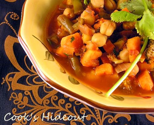Cook's Hideout: Moroccan Vegetable Tagine
