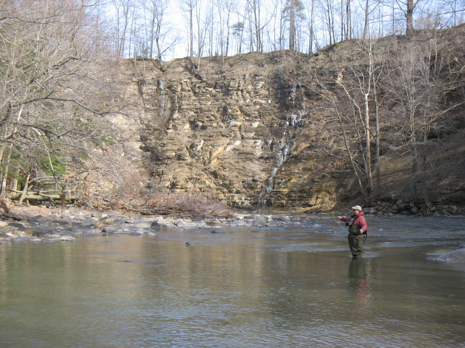 Wny fly fishing wny fly fishing report 03 27 10 for Trouts fishing report