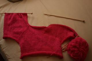 White Wrap Dress on Making A Baby Shrug To Go Over It Since It Will Be Cold No Matter