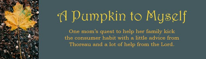 A Pumpkin to Myself