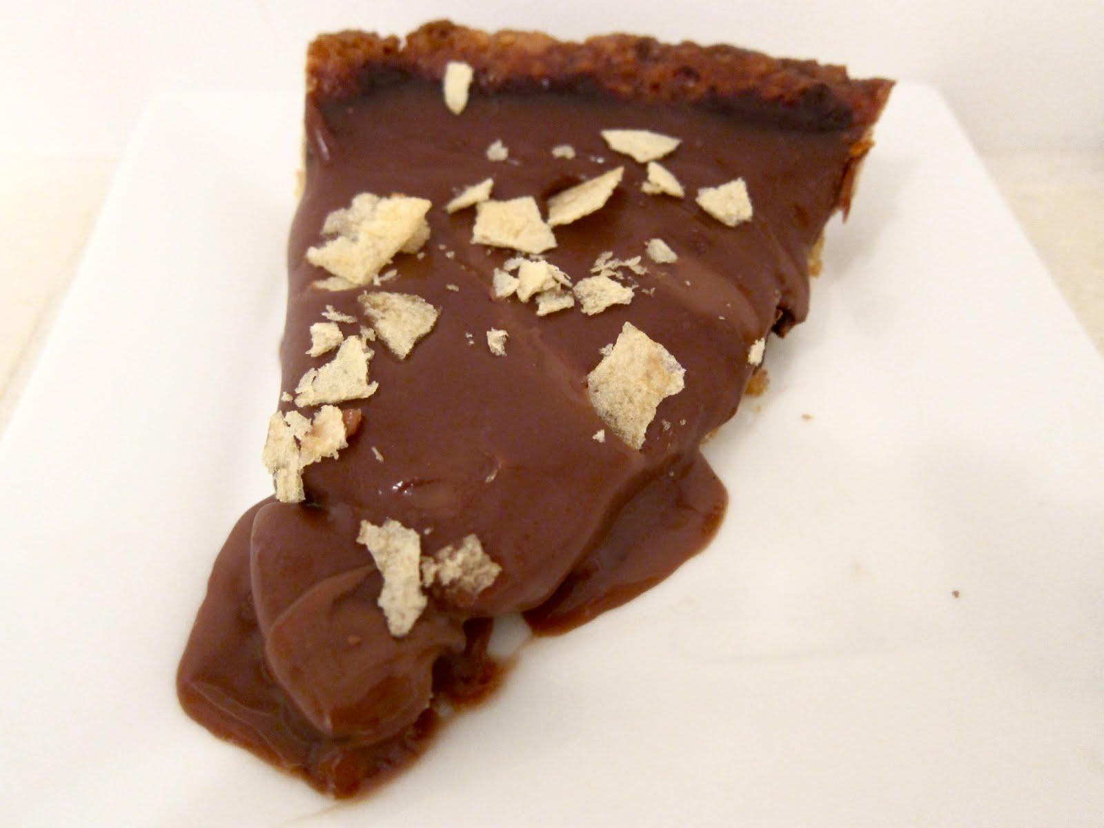 Milk Chocolate Potato Chip Tart (Kosher for Passover) — CookTeen ...