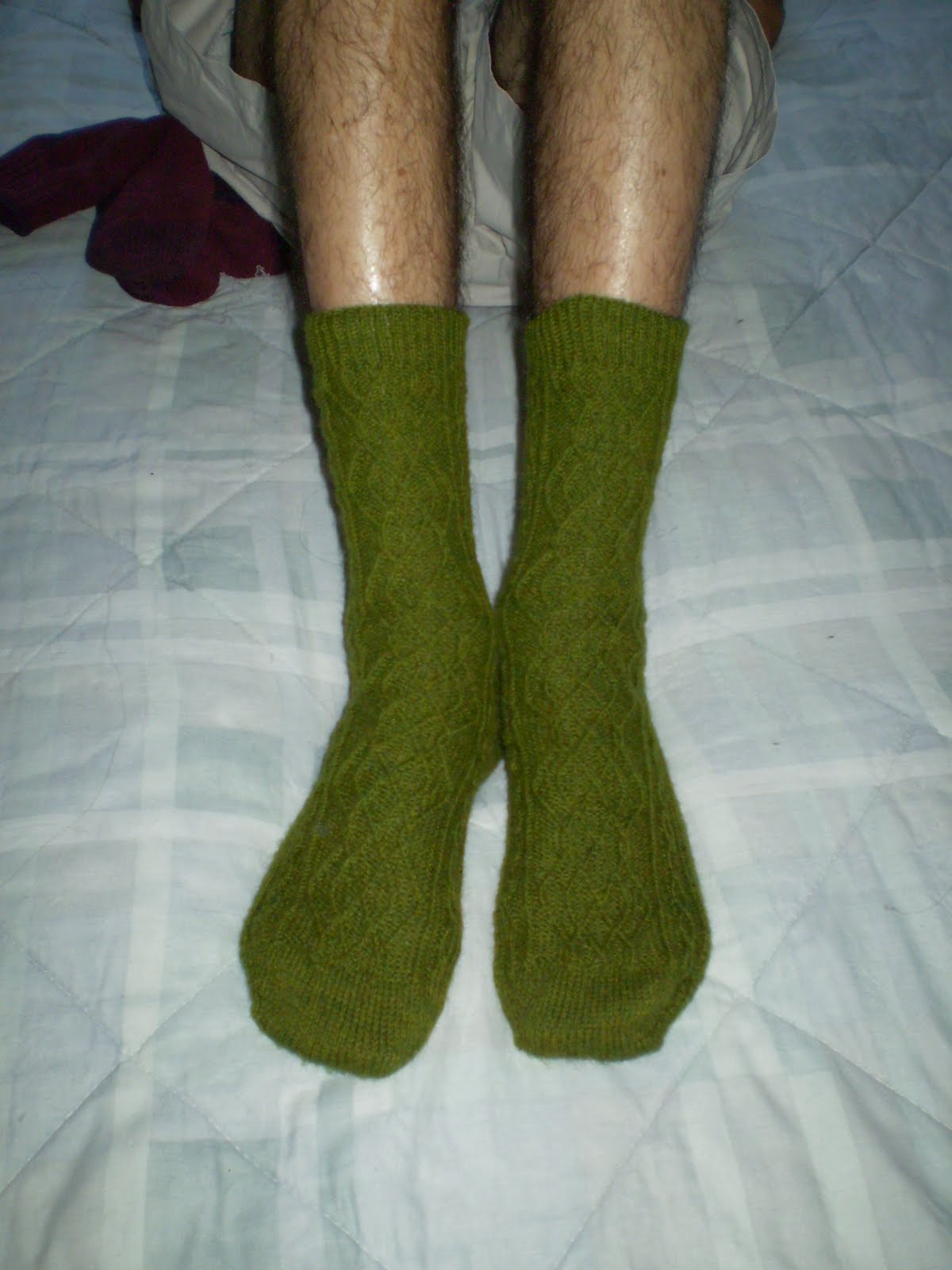 Knitting Cowgirls: Richards Aran Socks