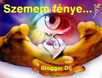 A szemem fénye blogger díj