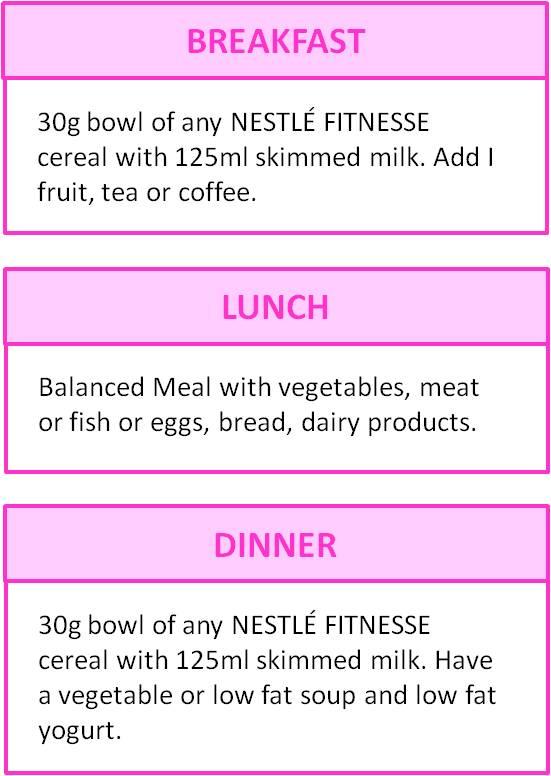 14 Days Diet Nestle Loveseat