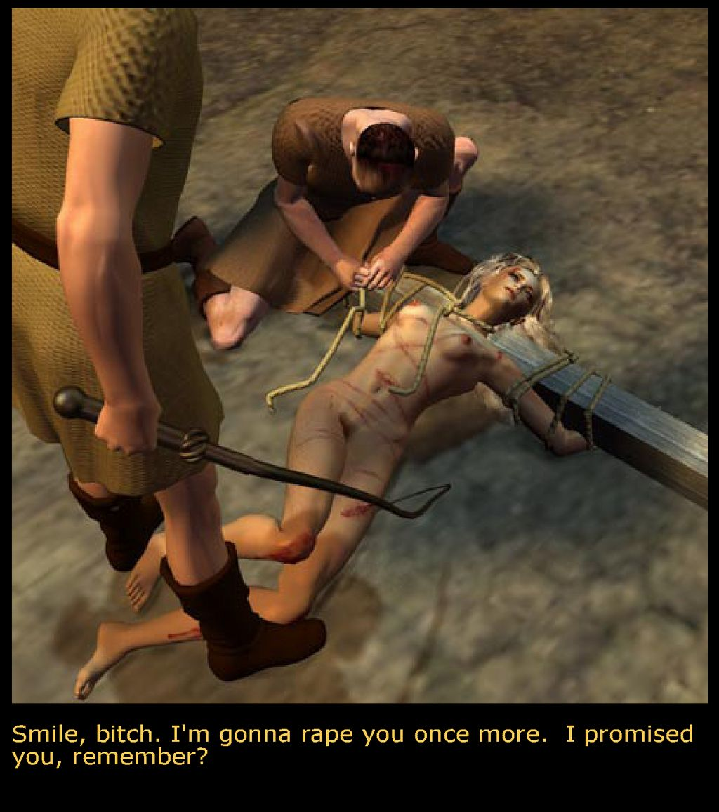 Crucified women nude I've never