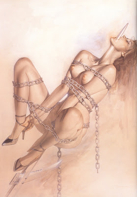 Hajime Sorayama's Venom. Returning to a Ninfa, that question is very wise.