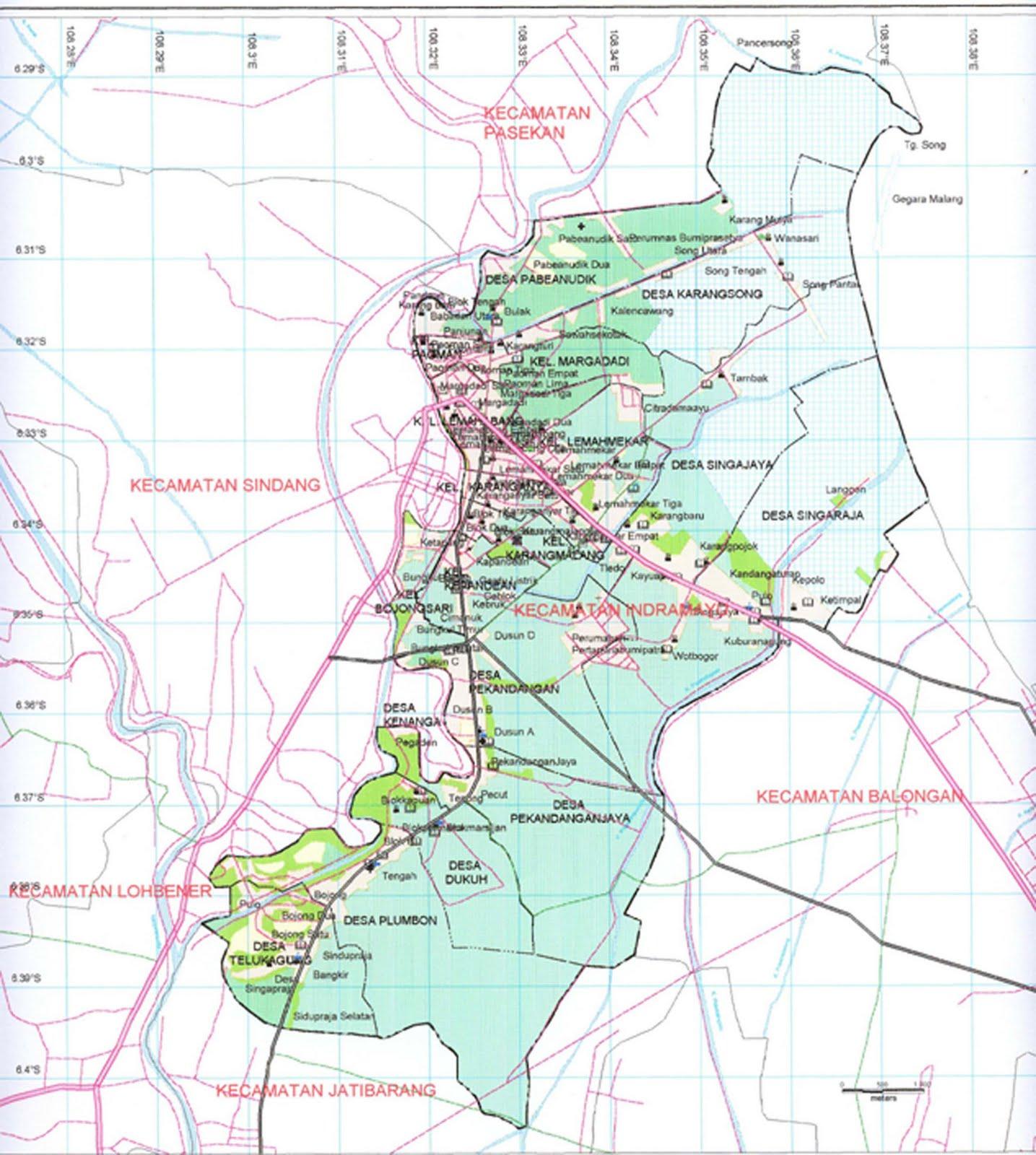 Peta Indramayu