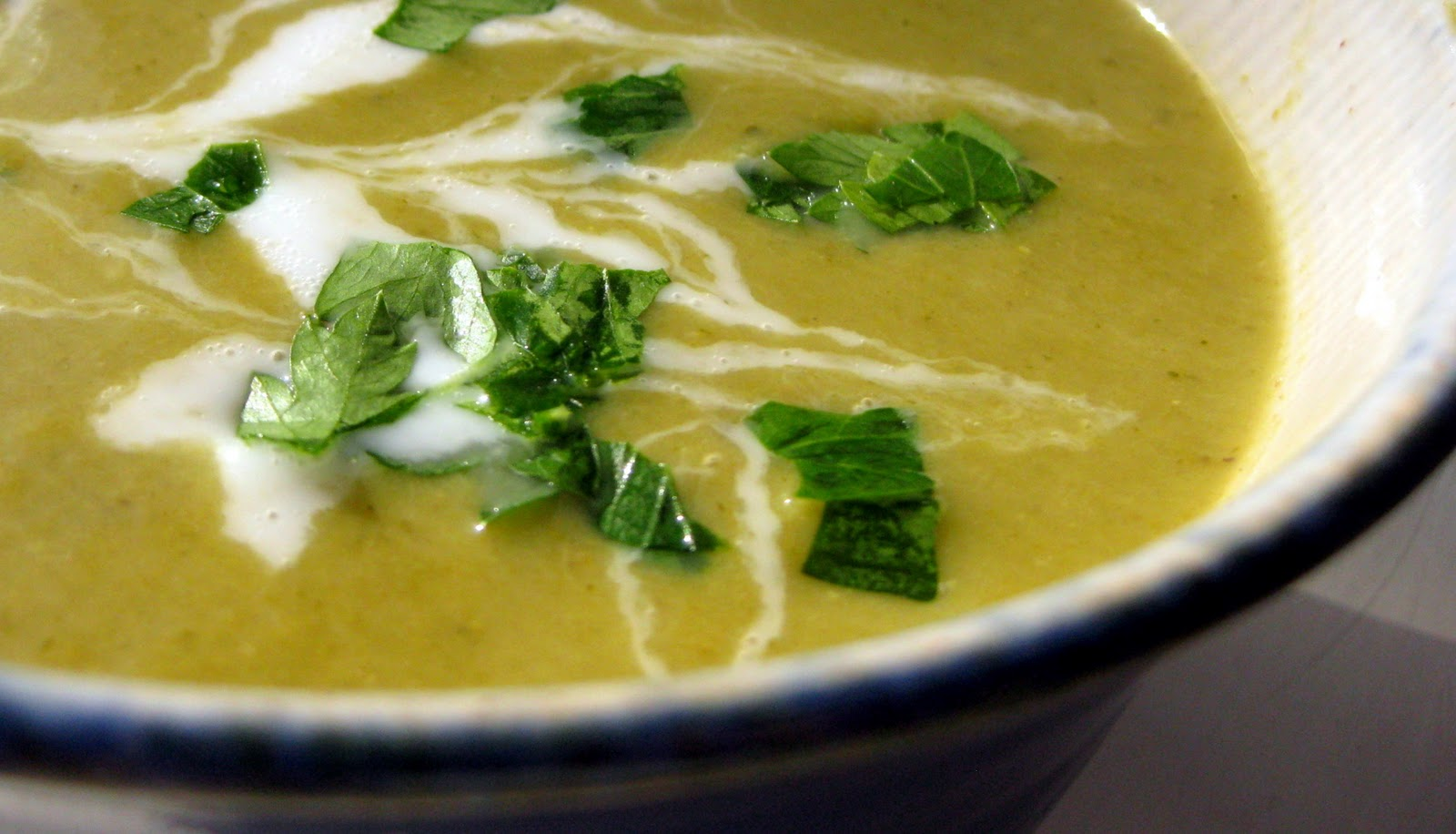 This Gluten-free Life Creamy Asparagus Soup with Coconut Milk