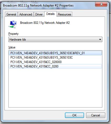 Broadcom 802.11 G Драйвер