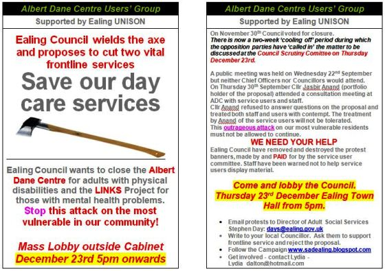 ... services for children & vulnerable adults in Ealing then JOIN US!