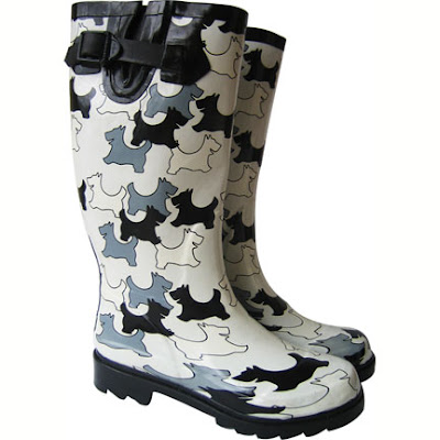 Plueys Cats & Dogs Rain Boots -- For When It's Raining Cats And Dogs