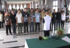 Pelantikan Pengurus ORLOK Pasuruan 2008 - 2010 oleh Ketua ORARIDA Jatim