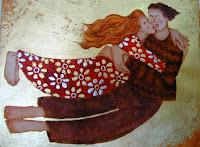Handmade Romantic Painting