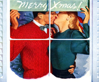 Romantic Christmas Greeting Cards