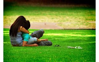 Romance Filled Hug Card