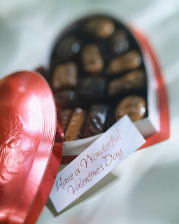 romantic chocolate cards