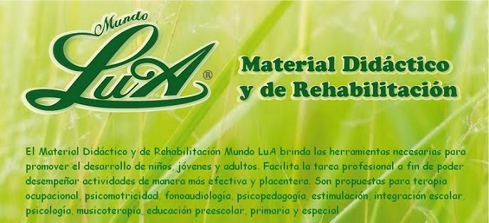 Material didáctico y de Rehabilitación Mundo LuA
