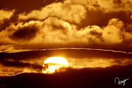 Pôr-do-sol... do meu amigo Marzio, fotógrafo!