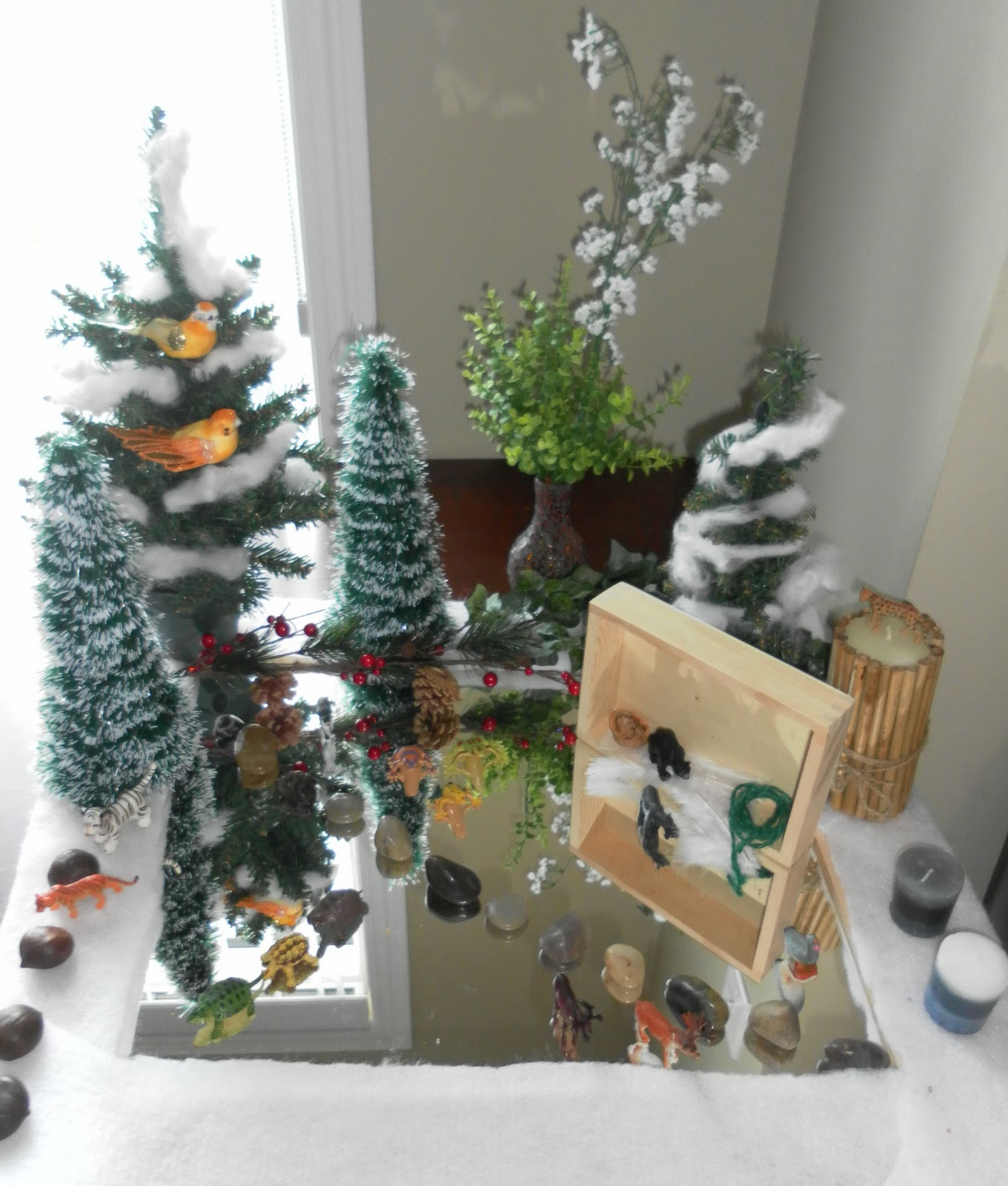 Winter nature table - Winter Nature Table 11