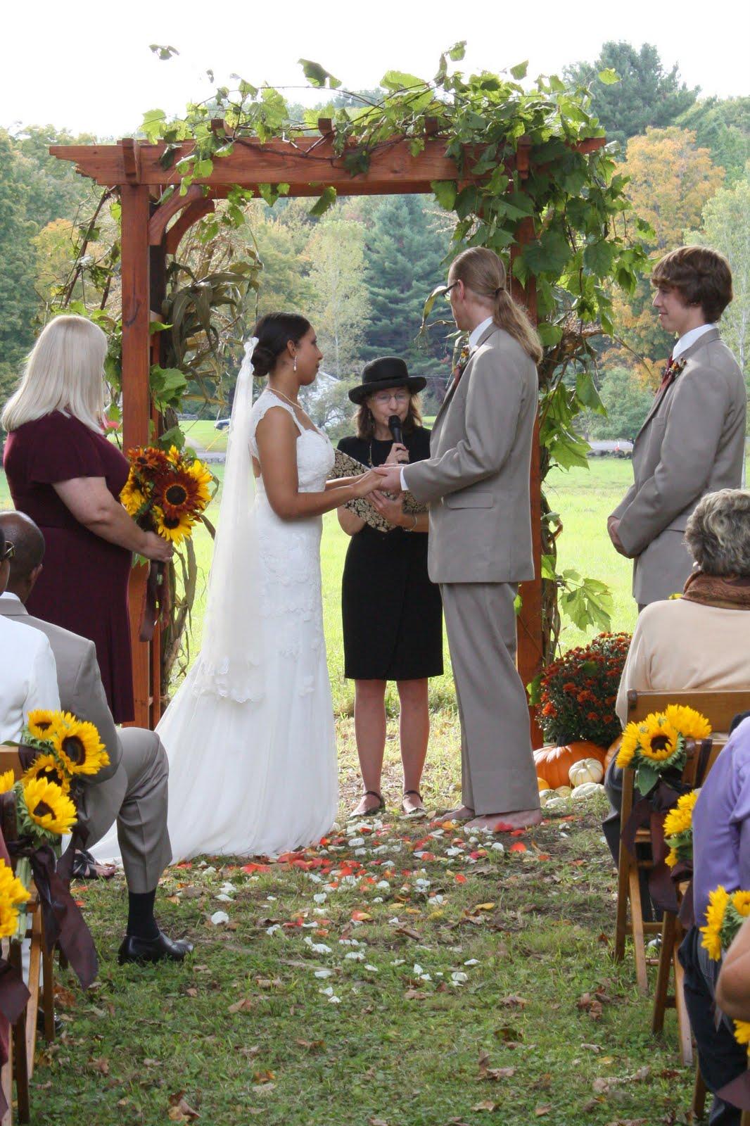 Outdoor Weddings Build Bridges Between Humanity And Nature