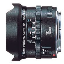 Canon Lens EF 15mm F2.8 Fish Eye
