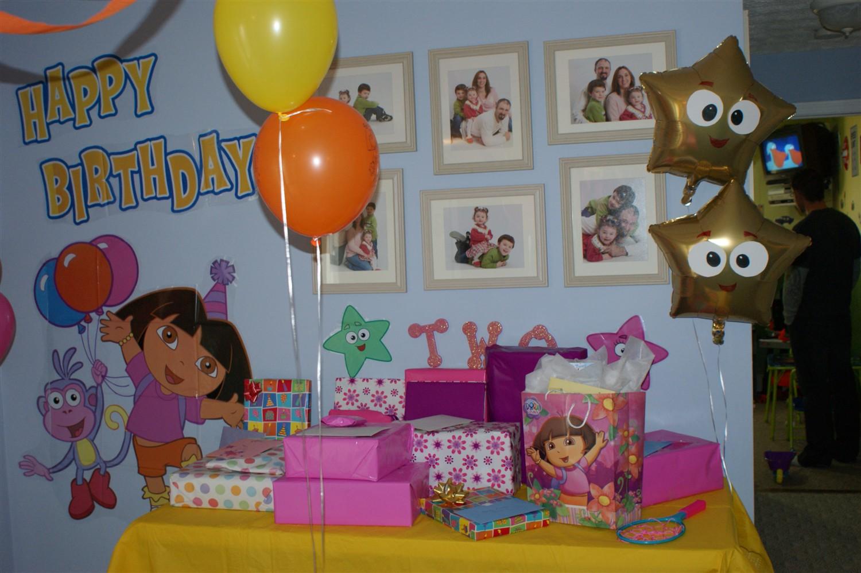 Dora Birthday Wall Decoration : The purple patch dora explorer birthday