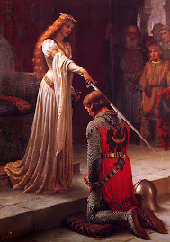 'The Accolade' by Edmund Blair Leighton