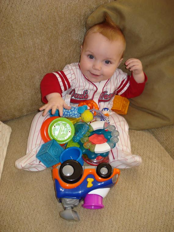 A boy & his toys!!