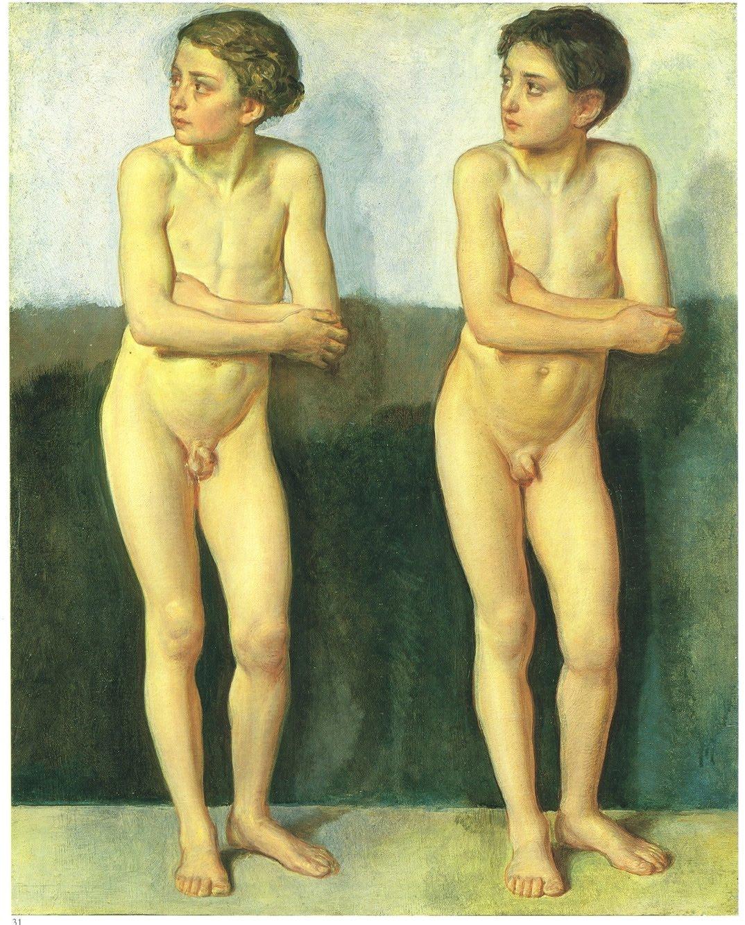 Рисунки голых мальчиков 15 фотография