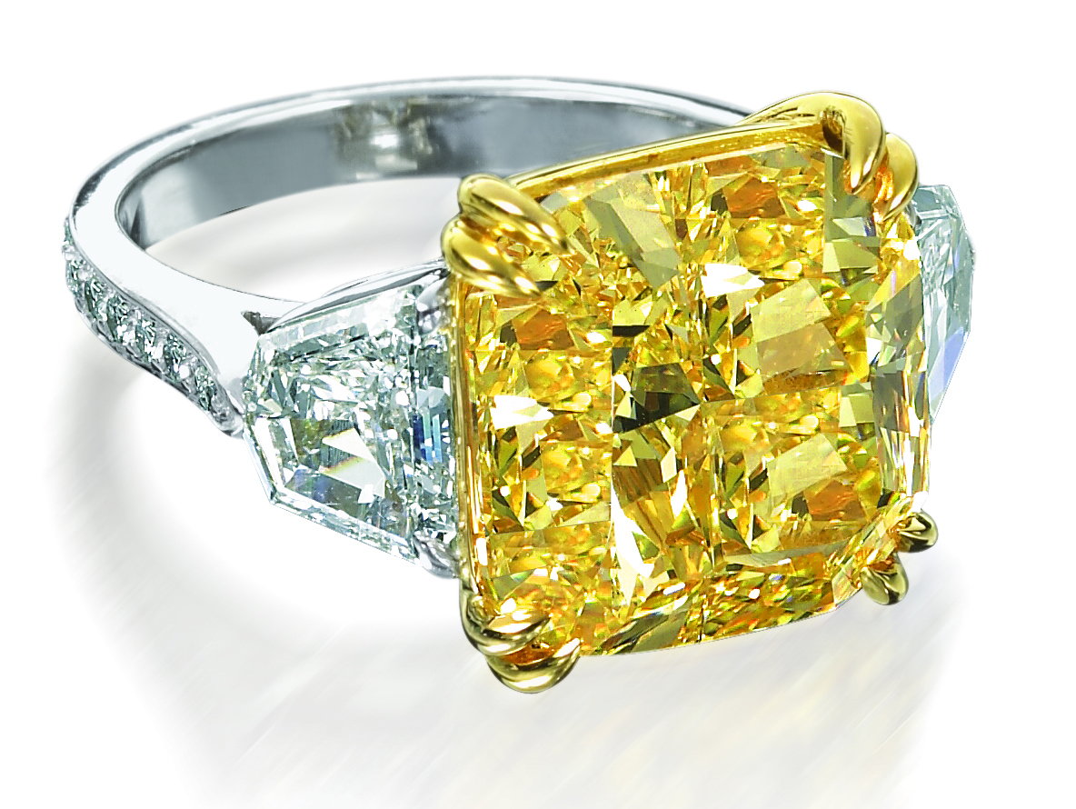 colored gem engagement rings collection