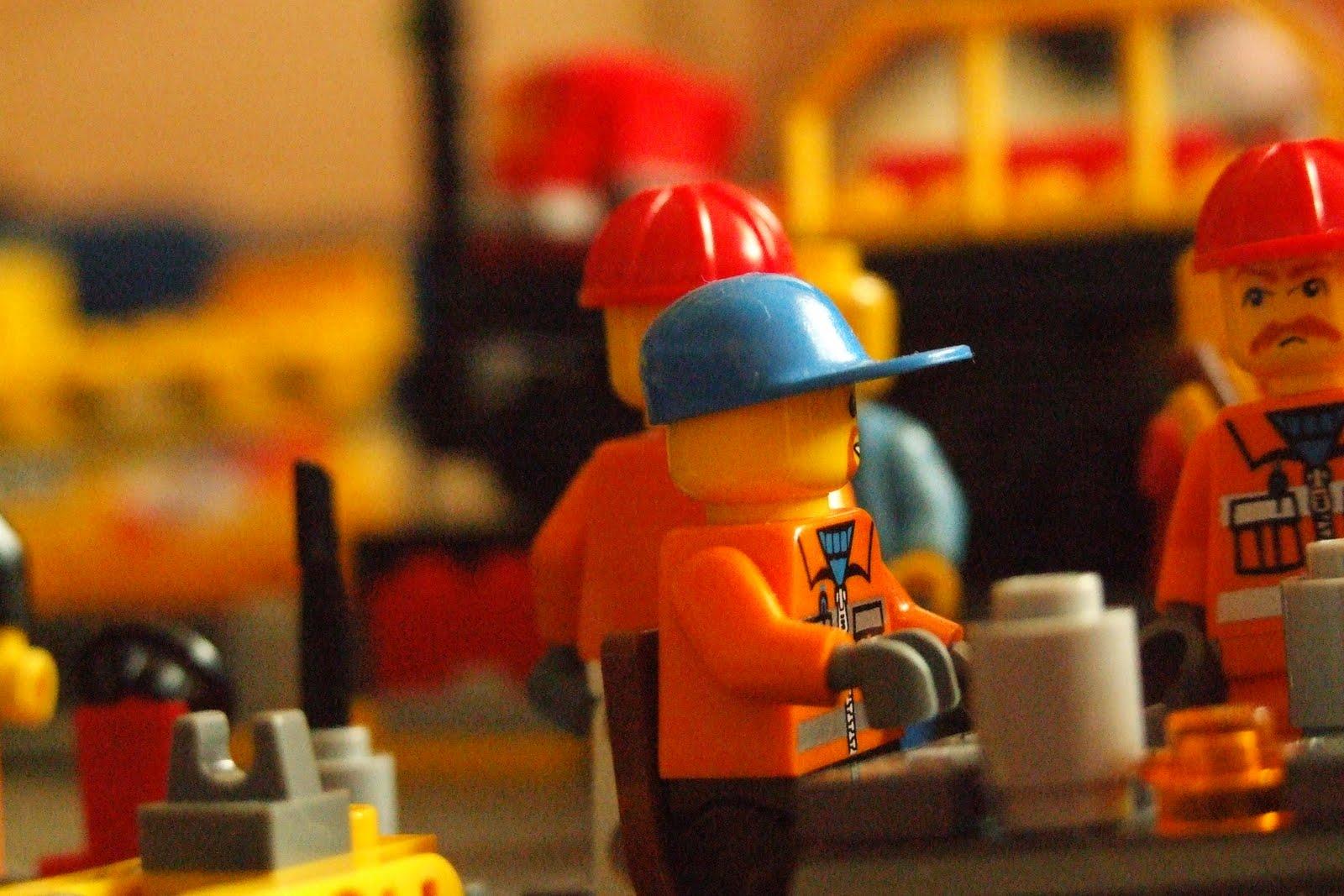 Как сделано Лего 76