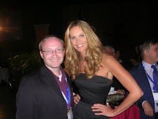 Paul Donovan with Elle McPherson