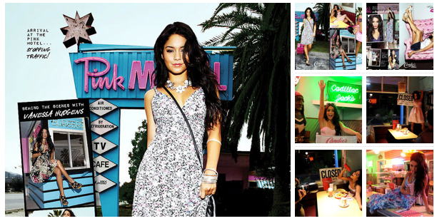 Now that you know Vanessa Hudgens is the new face of Candie's, now it's time