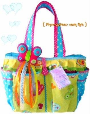 bolsas artesanais de pano moda atual