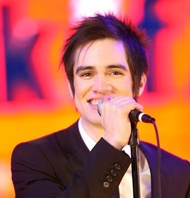 Men Hair Model Brendon Urie