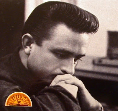 Mens Hairstyles: Johnny Cash. In 2005, Joaquin Phoenix (an American Actor)