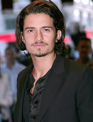 Orlando Bloom hairstyle