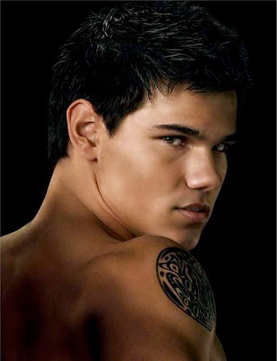 Jacob Black short textured hairstyle
