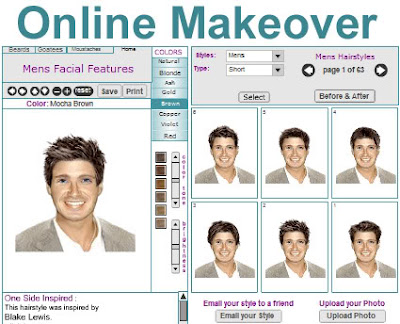 Get an Instant Make Over with Free Virtual Hairstyles