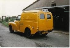 Morris van gutter repairs.