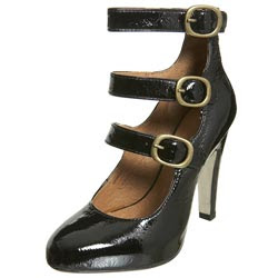 dressed and pressed, topshop multi-buckle platforms