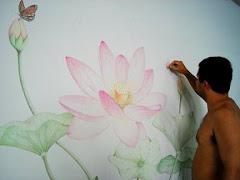 Flor de Lótus - Arte do meu bem