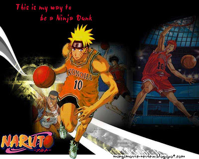 Naruto play basket ball