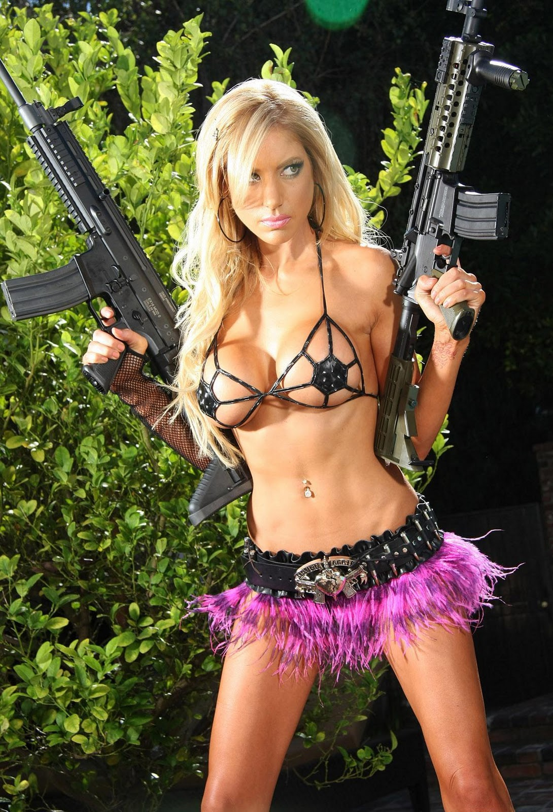 ar15 gun blogs bikini
