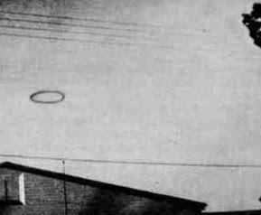 1955, smoke, ring, ufo, virgina