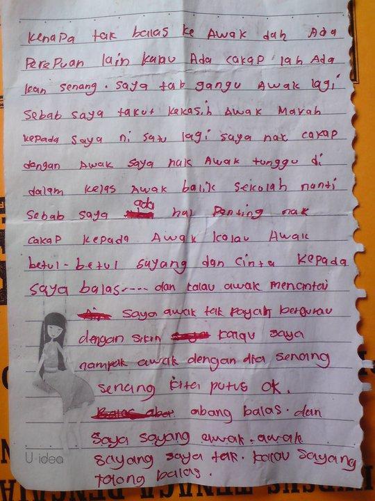 surat lucah budak sekolah