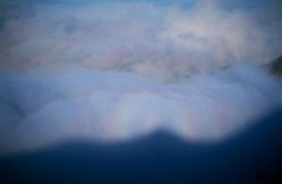 Close-up of Haleakala glory, Maui, Sep. 2003