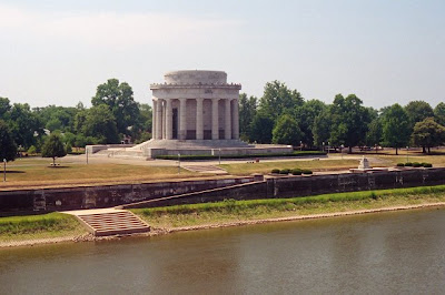George Rogers Clark Memorial, Vincennes, IN, June 2007