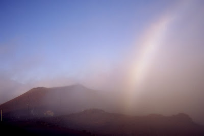 Fog Bow on Haleakala, Maui, October 2008